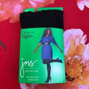 opaque tights jms just my size